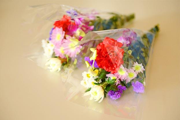 600円のお花